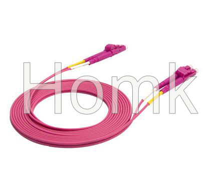 LC PC OM4 DX Patch Cord