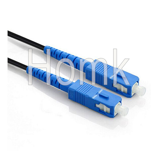 SCPC Fiber Pigtail With Black Cable