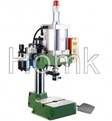 Fiber Optic Vertical Pneumatic Crimper