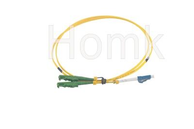 E2000 APC-LCPC SM DX Fiber Patch Cord