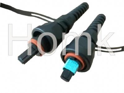 ODVA MPO Fiber Waterproof Patch Cord connector