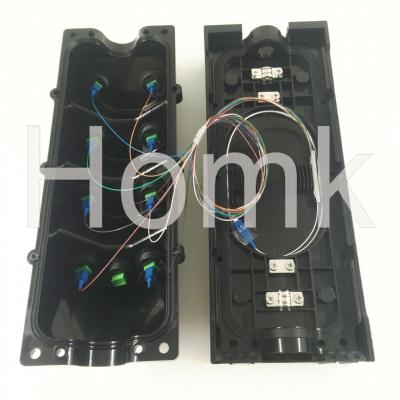 Outdoor waterproof H-Connector MiniSC connector in FTTX outdoor IP68 waterproof Optical Terminal distribution box