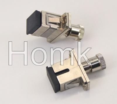 SMA-SC fiber adapter
