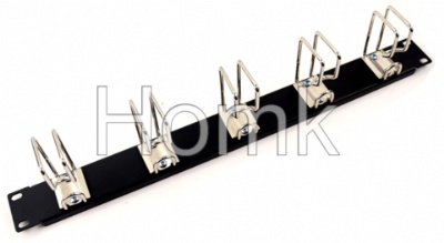 Network Cable Management Black Cable Organizer