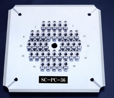 2.5mmPC-36 Fiber Polishing Fixture