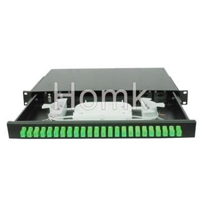 24 Cores SC APC Fiber Terminal Box