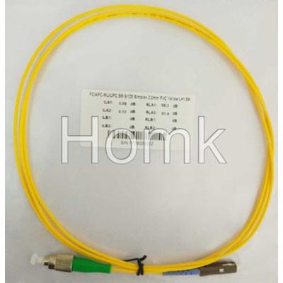 FC/APC-MU/UPC SX SM Standard Patch Cord