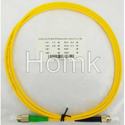 FC/APC-ST/UPC SX SM Standard Patch Cord