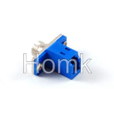 FC-LC SM SX Hybrid Fiber Optic Adapter