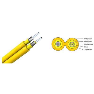 Fiber Cable(Duplex Zipcord Armored Cable GJFJV)