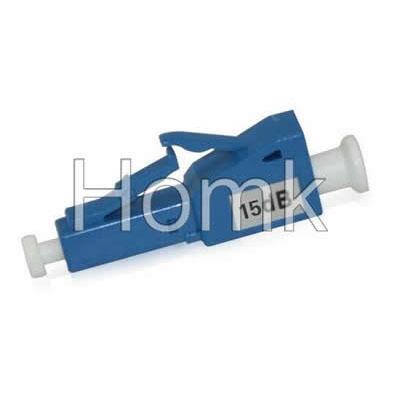LC 15dB Male to Female Fiber Attenuator
