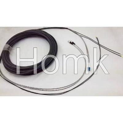 LC-FC Duplex Armoured Fiber Cable