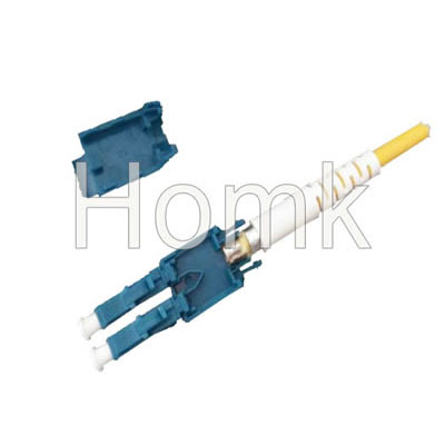 LC/PC SM Duplex fiber optic connector