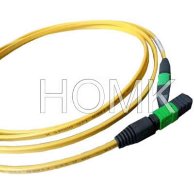 MPO APC Flat Cable Patch Cord