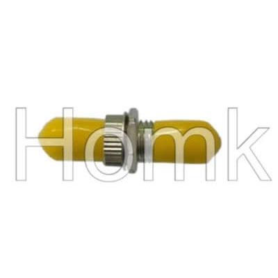 ST Yellow Cap Fiber Optic Adapter
